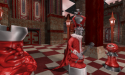 Checkmate in Red - Red King