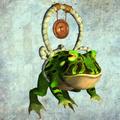 Oriental Frog render