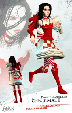 Checkmate dress poster