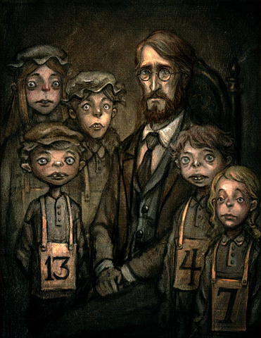 File:Portrait of Bumby with the orphans in Houndsditch.png