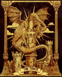Tarot Jabberwock The Tower