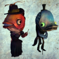 Fish couple render