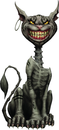 Cheshire Cat AMA render