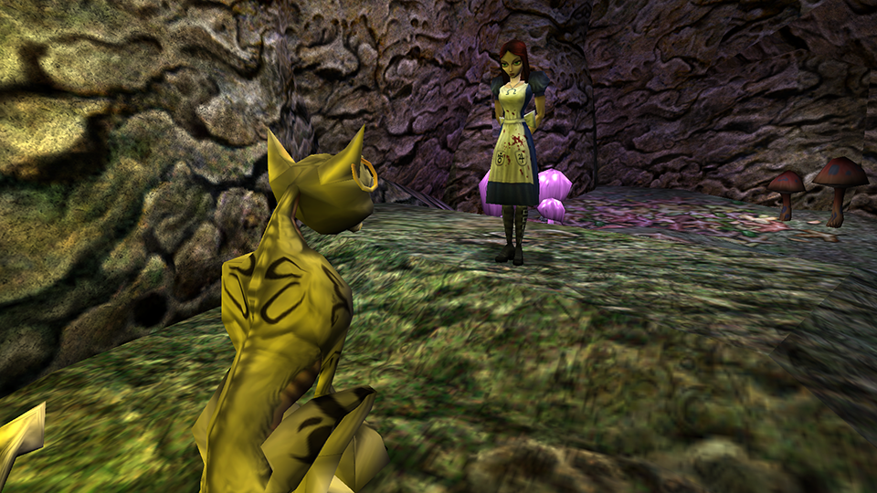 Cheshire Cat Alice Ladies Home Crafting