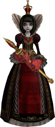Queen of Hearts AMR render