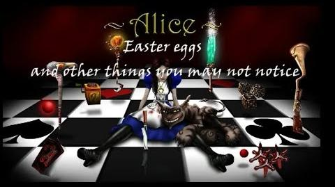 American McGee's Alice Easter Eggs and other things you may not notice