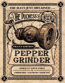 Pepper Grinder poster