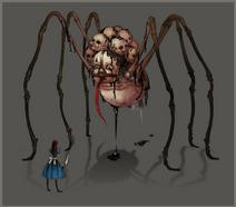 Asylum Spider Ruin concept