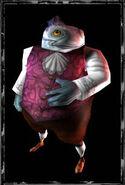 Characters fishfootmen