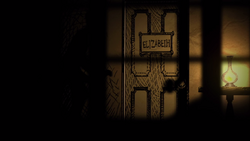 Lizzie's door