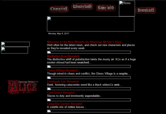 File:Old alice website news page.png