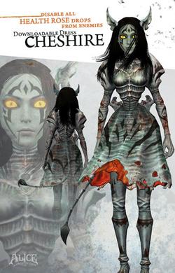 Cheshire dress poster