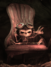 Razputin's skeleton