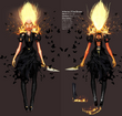 Inferno dress concept