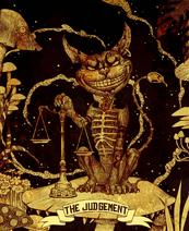 Tarot Cheshire Cat The Judgement