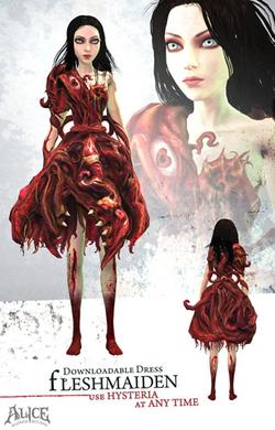 Fleshmaiden dress poster