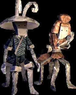 Origami Ants