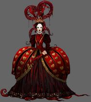 Queen of Red Heart