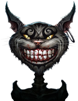 Cheshire Cat Storybook render 2