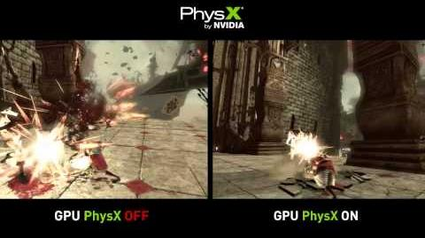 Alice Madness Returns - PhysX Comparison in HD