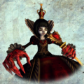 Queen of Hearts render