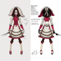 Plush dress concept