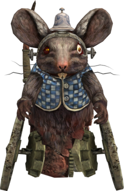 Dormouse AMR render