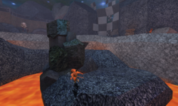 Caterpillar's Plot - Lava path