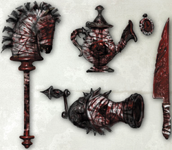 Hysteria weapons
