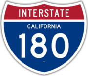 Interstate california 180