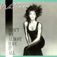 Whitney Houston Didn't We Almost Have It All cover