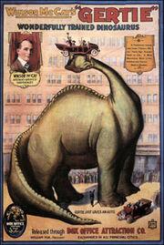 Winsor mccay gertie poster