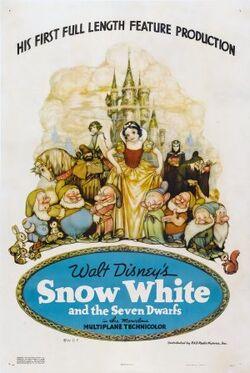 Snow White 1937 poster