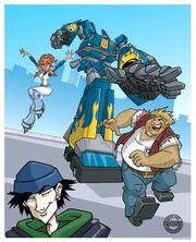 Megas-xlr-characters