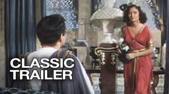 Quo Vadis Official Trailer 1 - Robert Taylor Movie (1951) HD