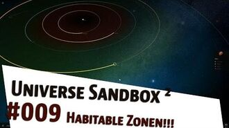"Let's Play Universe Sandbox 2 ""Habitable Zonen"" german deutsch"