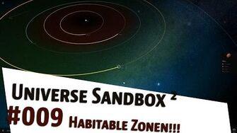 "Let's Play Universe Sandbox 2 ""Habitable Zonen"" german deutsch"
