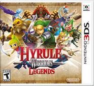 Hyrule Warriors Legends Box Art