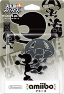 Packaging Mr. Game & Watch JP
