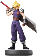 Amiibo - SSB - Cloud