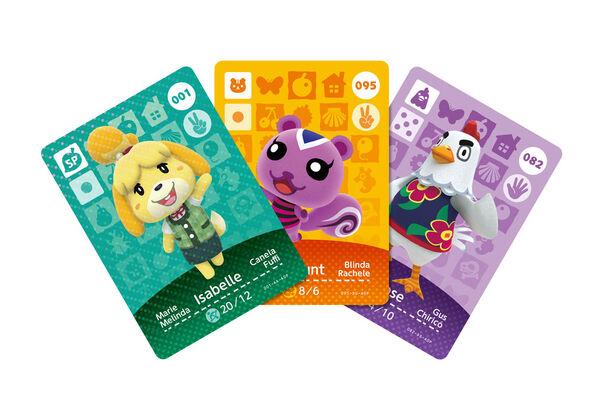 Amiibo ac cards