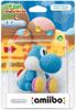 Packaging light-blue yarn yoshi