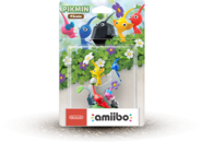 US Pikmin amiibo box with shadow