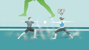 Wii Fit Trainer Smash