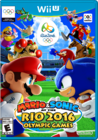 Mario & Sonic at the Rio 2016 Olympic Games Wii U Boxart
