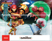 Samus Aran & Metroid US box