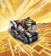 Dark Turbo Charge Donkey Kong Car Artwork