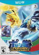 Pokkén Boxart with Amiibo Card