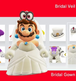 Mario amiibocostume weddingpeach