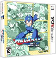 Mega Man Legacy Collection Box Art